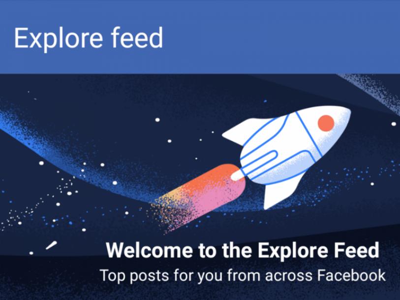 Explore Feed Facebook